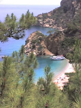 spiaggetta greca