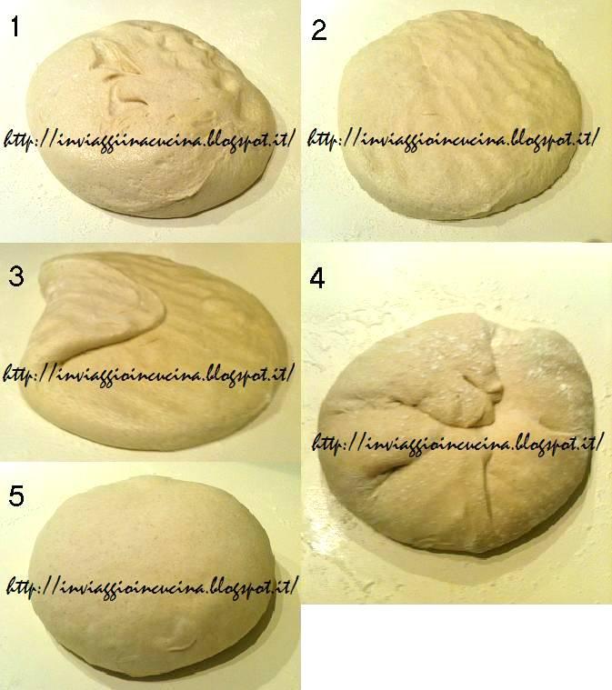 Pieghe del pane del secondo tipo