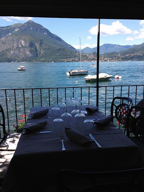 Tavolo del ristorante Vecchia Varenna