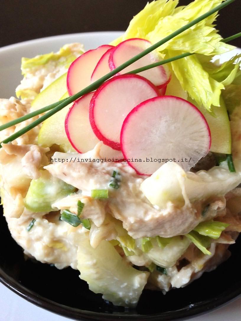 insalata di pollo dietetica