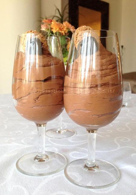 mousse al cioccolato fondente e peperoncino