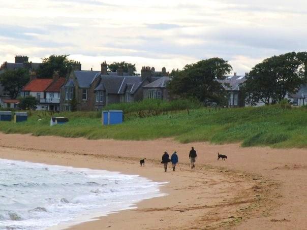 Spiaggia nel Fife