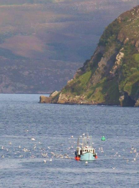 Peschereccio all'isola di Skye
