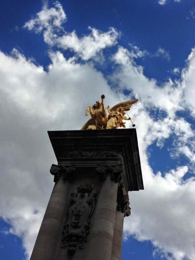 Statua del ponte Alexandre III