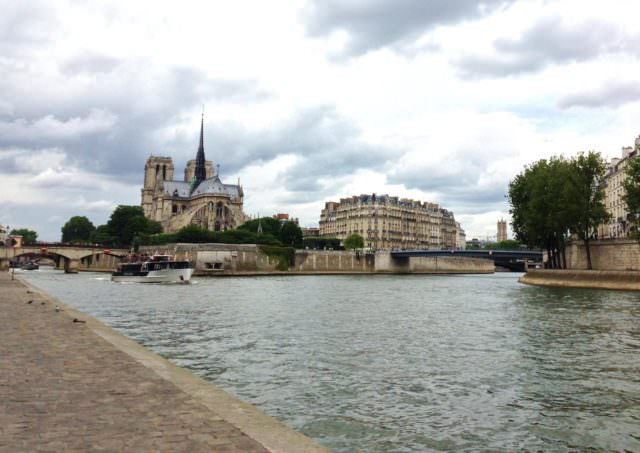 Vista de l'Île e Notre Dame