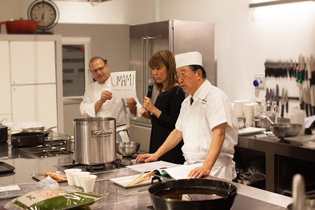 Chef Oshima spiega l'umami