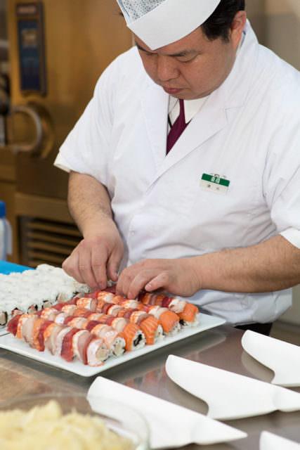 Preparazione del Sushi