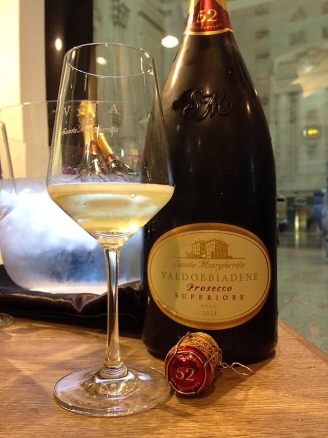 vino prosecco di Santa Margherita