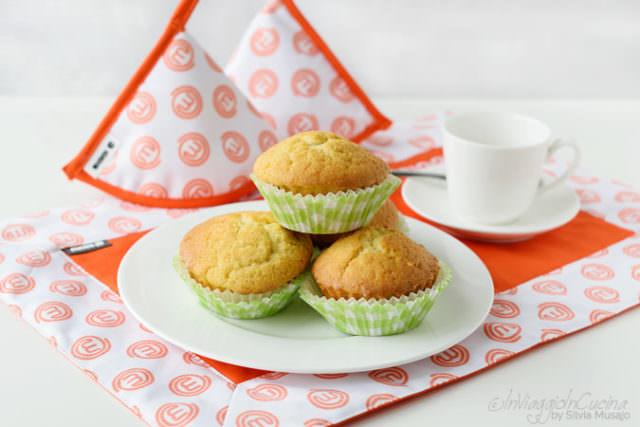 Muffins con uvetta e cannella
