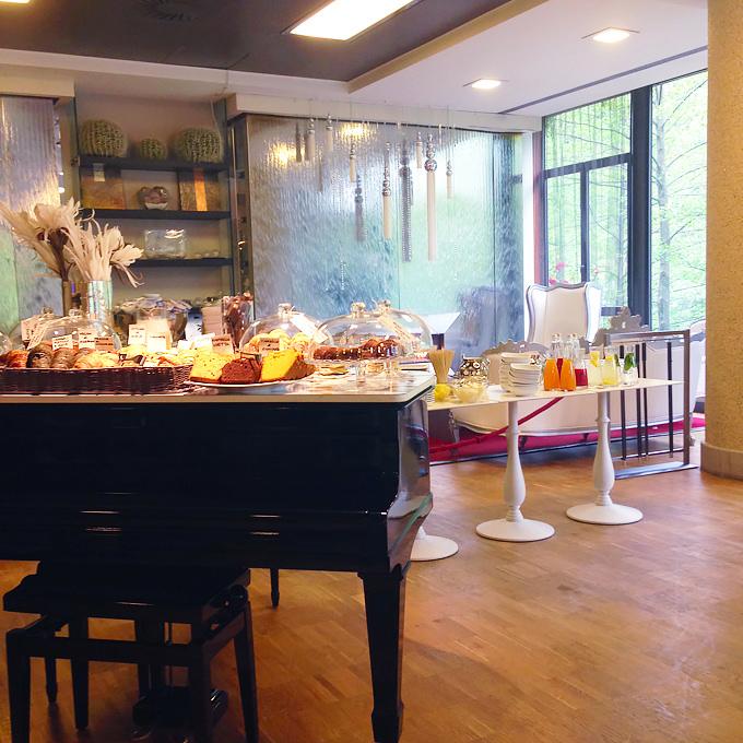 Buffet breakfast al Roseo Euroterme