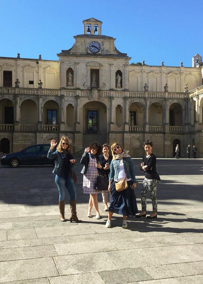 Blogger a Lecce per Extravergine in Puglia