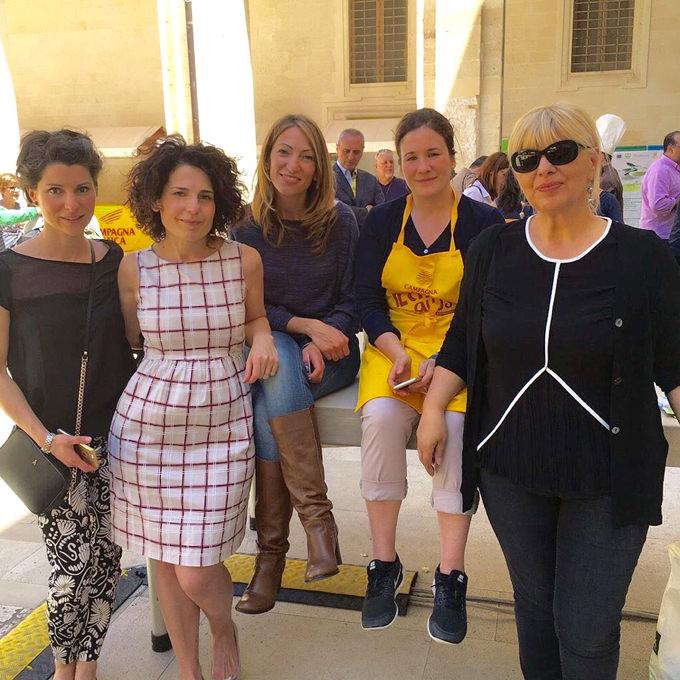 Blogger all'evento Extravergine in Puglia