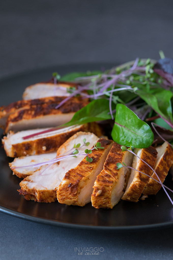 Chicken breast with paprika