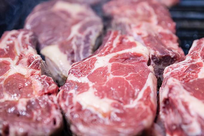Grigliata di carne biologica irlandese