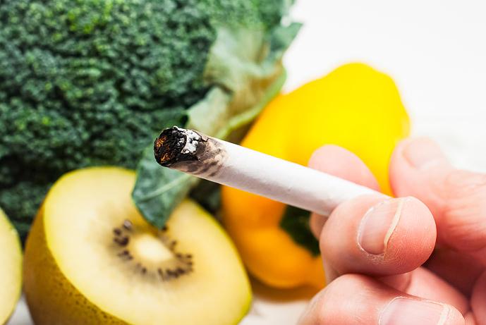 Sigarette e cibo