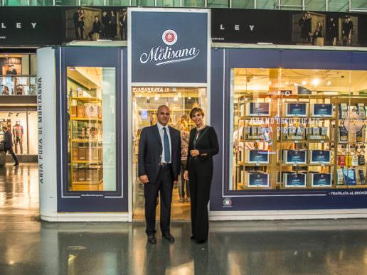 La Molisana Temporary Store Stazione Termini
