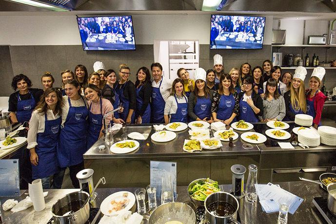 Foto di gruppo evento Grohe Blue Home
