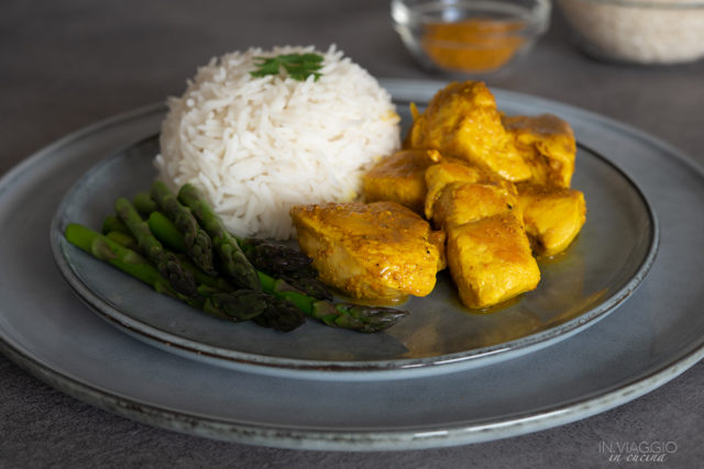 fat-free curried chicken breast